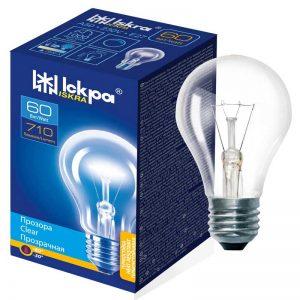 Elektros lemputė ISKRA 60 W, pramoniniam naudojimui