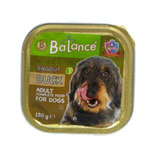 Šunų maistas, paštetas su paukštiena BALANCE, 150 g