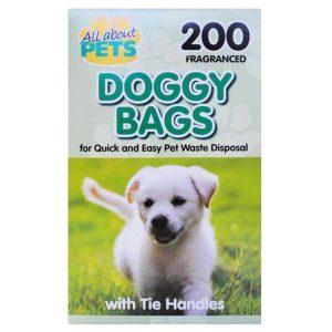 Šunų ekskrementų maišeliai DOGGY BAGS, 200 vnt.