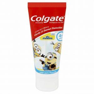 Vaikiška dantų pasta COLGATE MINIONS, 50 ml