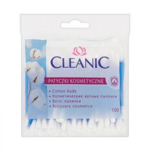 Higieniniai pagaliukai CLEANIC 100 vnt. maišelis