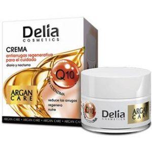 Regeneruojamasis veido kremas nuo raukšlių DELIA COSMETICS ARGAN CARE, 50 ml