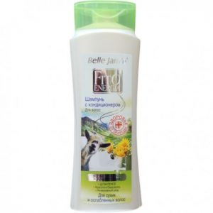 Plaukų šampūnas su ožkų pienu BK FITO ENERGIA, 400 ml