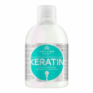 Plaukų šampūnas KALLOS COSMETICS KERATIN, 1000 ml