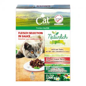 Kačių ėdalo rinkinys CATESSY, 12 x 100 g