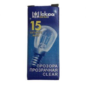 Elektros lemputė ISKRA 15 W E14, 1 vnt.
