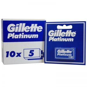 Skutimosi peiliukai GILLETTE PLATINUM, 5 vnt.