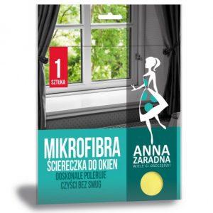 Stiklų valymo šluostė ANNA ZARADNA, 1 vnt.