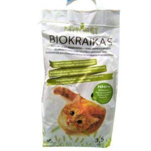 Augalinės kilmės kačių kraikas KITTOILET, 6 l
