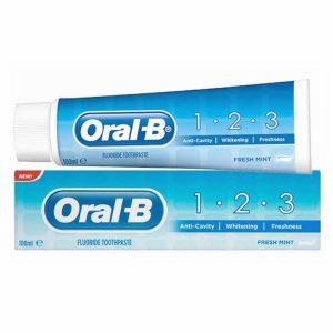 Dantų pasta ORAL-B MINT, 100 ml