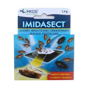 Gelinis insekticidas tarakonams IMIDASECT, 1,4 g