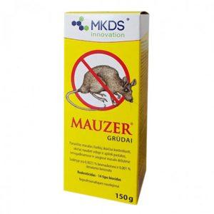 Graužikų nuodai grūdais MAUZER, 150 g