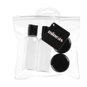 Kelioninių buteliukų rinkinys MINEAS, 2x50 ml, 2x30 ml