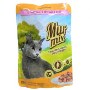 Konservuotas kačių ėdalas MUR, 100 g