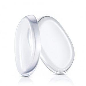 Kosmetinė silikoninė makiažo pagrindo kempinėlė, 1 vnt.