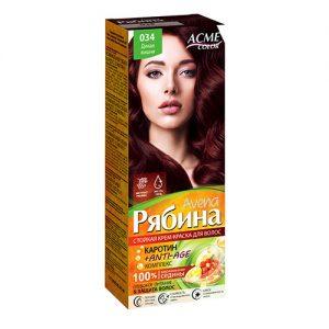Kreminiai plaukų dažai ACME COLOR REBINA Nr. 034