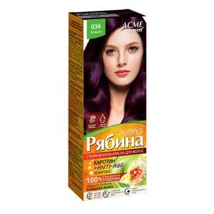 Kreminiai plaukų dažai ACME COLOR REBINA Nr. 036