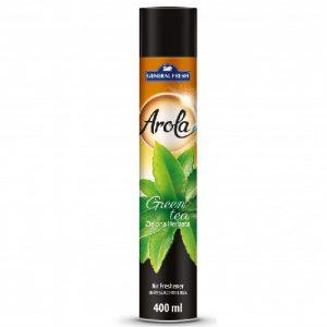 Oro gaiviklis AROLA GREEN TEA, 400 ml