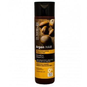 Pažeistų plaukų šampūnas DR. SANTE ARGAN HAIR, 250 ml