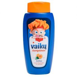 Persikų kvapo vaikiškas šampūnas KOSLITA, 260 ml