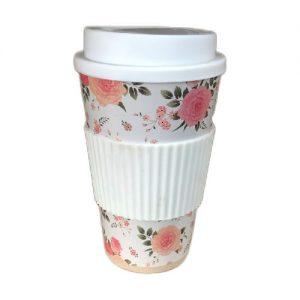 Puodelis su užsukamu dangteliu COFFEE TO GO, 430 ml