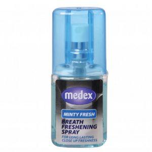 Purškiamas burnos gaiviklis MEDEX MINTY FRESH, 20 ml