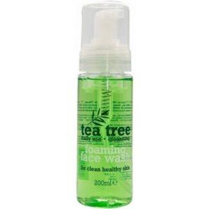 Putojantis veido prausiklis TEA TREE, 200 ml