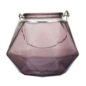 Stiklinė žvakidė GUSTA, 1 vnt.