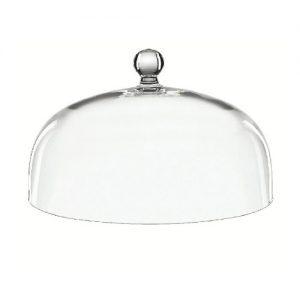 Stiklinis gaubtas, 24 cm aukščio, D 31 cm