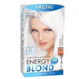 Šviesinamieji plaukų dažai ENERGY BLOND ARCTIC