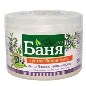 Tirštas baltasis muilas RUSSKOJE POLE FITO BANIA, 500 g