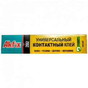 Universalūs kontaktiniai klijai AKFIX 202, 50 g