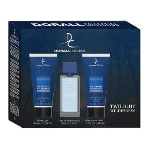 Vyriškas kosmetikos rinkinys DORALL COLLECTION TWILIGHT WILDERNESS, 3 dalių