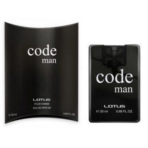Vyriškas parfumuotas vanduo LOTUS CODE MAN, 20 ml