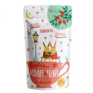 Žolelių arbata su erškėtuogėmis IVAN ČAI, 50 g