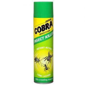 Ropojančių vabzdžių insekticidas SUPER COBRA, 400 ml