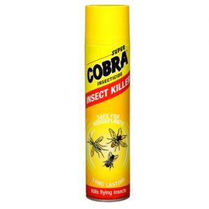 Skraidančių vabzdžių insekticidas SUPER COBRA, 400 ml