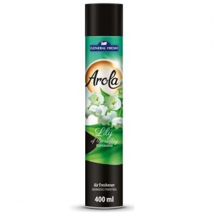 Oro gaiviklis AROLA LILY OF VALLEY, 400 ml