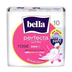 Higieniniai įklotai BELLA PERFECTA ULTRA ROSE, 10 vnt.