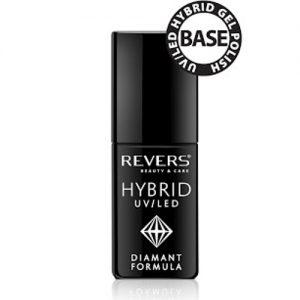 Hibridinis apatinio sluoksnio nagų lakas REVERS COSMETICS HYBRID UV/LED, 6 ml