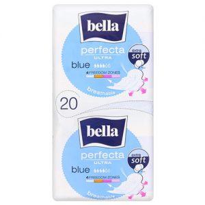 Higieniniai įklotai BELLA PERFECTA ULTRA BLUE, 20 vnt.