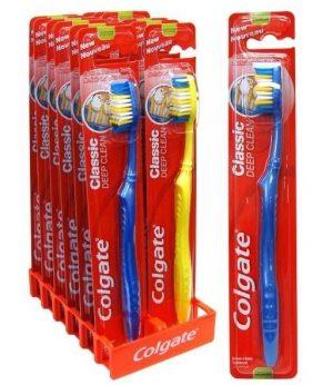 Dantų šepetėlis COLGATE CLASSIC DEEP CLEAN, 1 vnt.