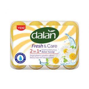 Tualetinis muilas DALAN FRESH & CARE 2 IN 1, 4 x 90 g