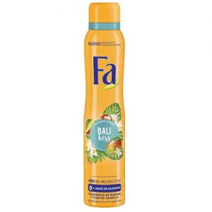 Purškiamasis moteriškas dezodorantas FA ISLAND VIBES BALI KISS, 200 ml