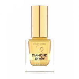 Blizgantis nagų lakas GOLDEN ROSE DIAMOND BREEZE, 10,5 ml, Nr.01