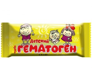 Maisto papildai HEMATOGENAS DETSKIJ, 30 g