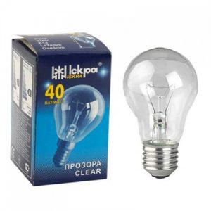 Elektros lemputė ISKRA, 40 W, pramoniniam apšvietimui, 1 vnt.