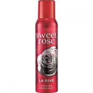 Moteriškas dezodorantas LA RIVE SWEET ROSE, 150 ml