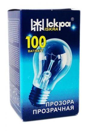 Elektros lemputė ISKRA100 W,  pramoniniam apšvietimui, 1 vnt.