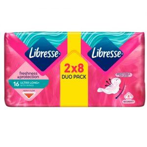 Higieniniai paketai LIBRESSE INVISIBLE SUPER, 16 vnt.